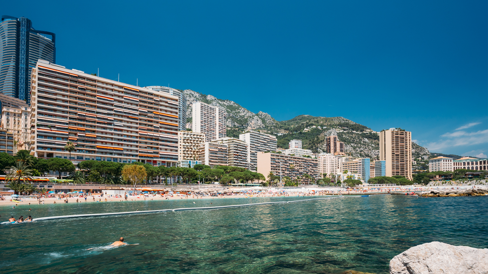 Selling Property in Monaco - Larvotto Beach - Miells
