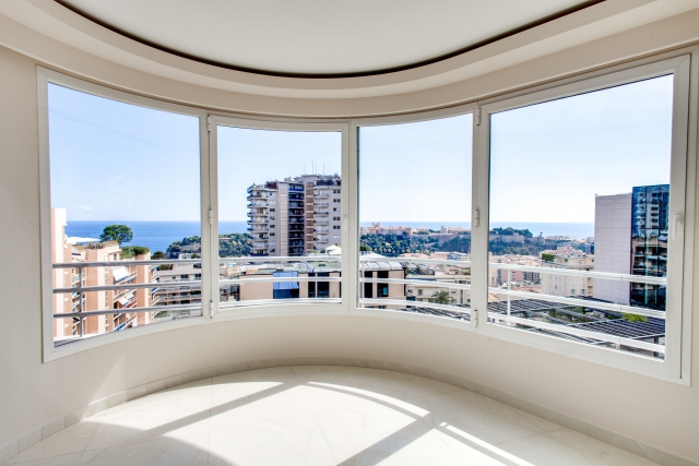 breathtaking view from penthouse for sale monaco
