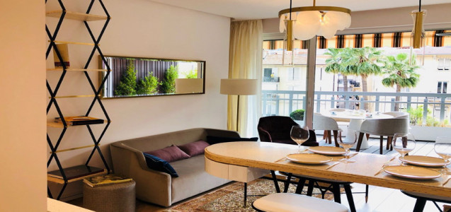 Furnished three-bedroom apartment in Golden Square