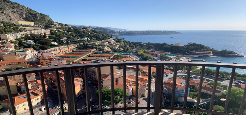 3 bedroom apartment in Parc Saint Roman Monaco - terrace