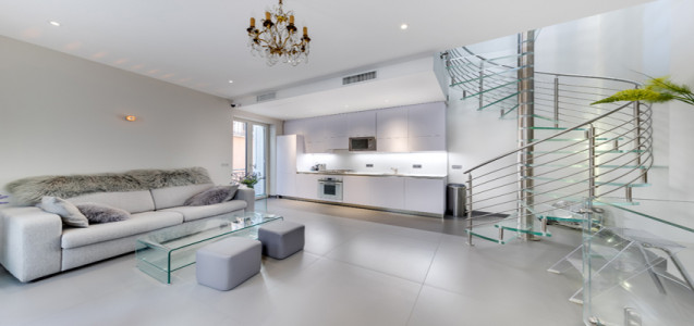 Renovated penthouse in Monaco-Ville