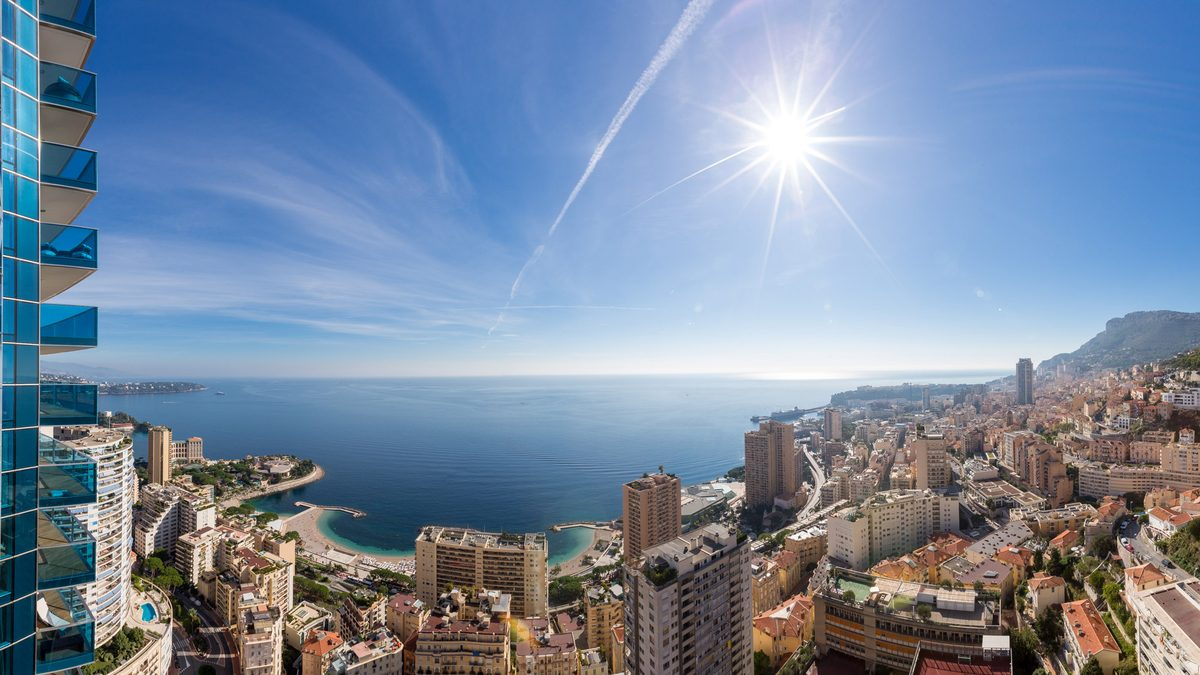 Vue mer panoramique Monaco immobilier Miells and Partners