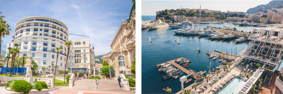 Some of the views from property for sale in Monte-Carlo